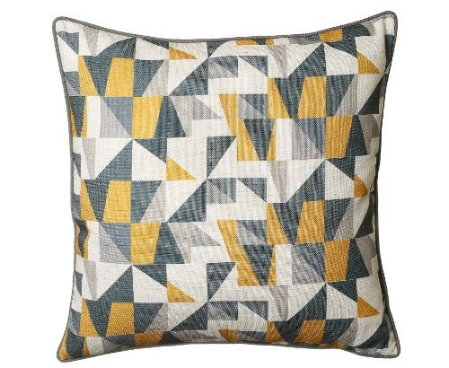 Scatter Box Synergy 45x45cm Cushion, Ochre