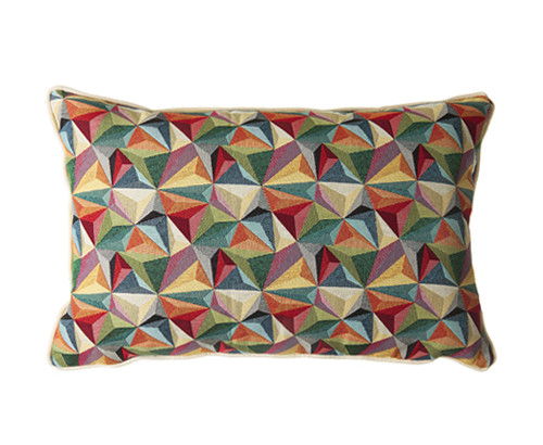 Scatter Box Kaleidoscope 38x57cm Cushion, Multi