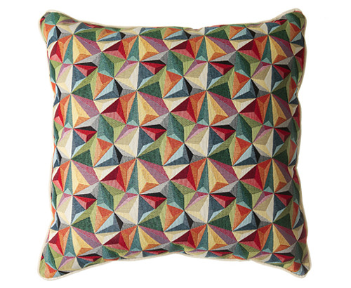 Scatter Box Kaleidoscope 54x54cm Cushion, Multi