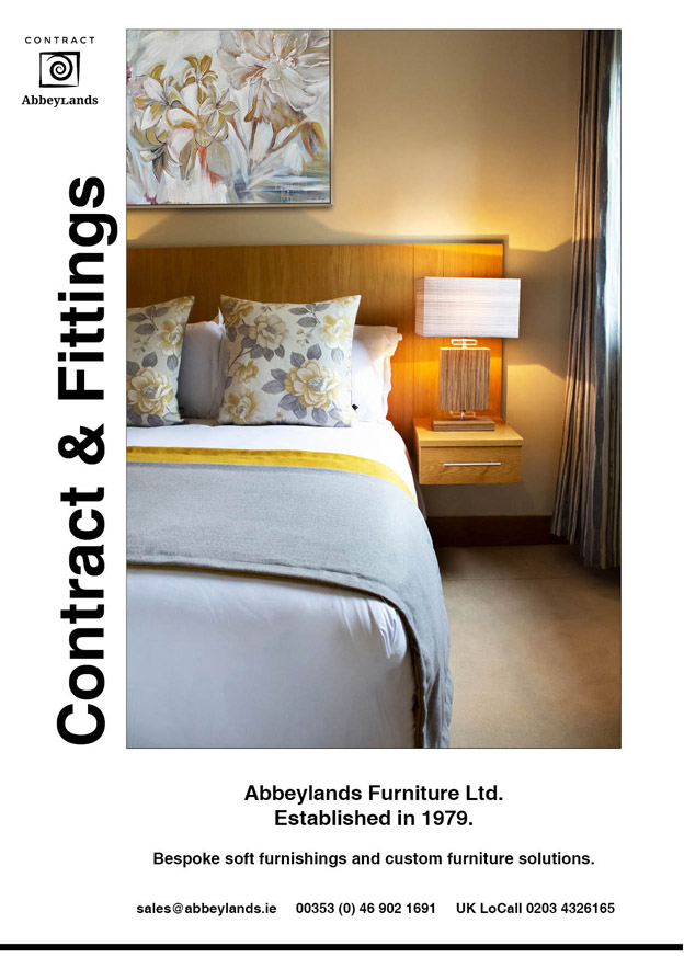 Abbeylands Furniture Ltd Contract Brochure Front Cover 2