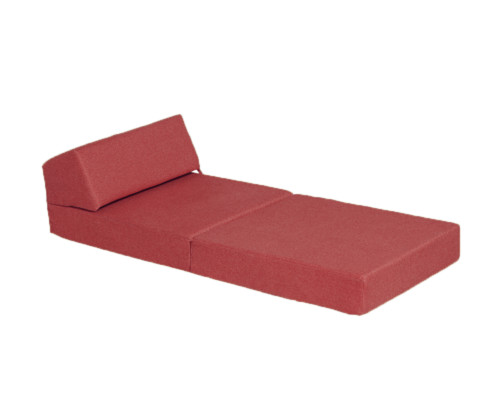 Tweed 200 Chair Bed Red