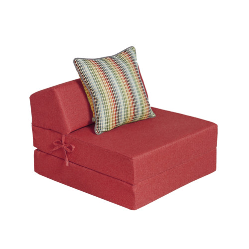 ... Tweed 200 Chair Bed Red Copy ...