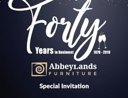 Abbeylands Furniture Ltd kick off 40th year celebrations at the January Furniture Show
