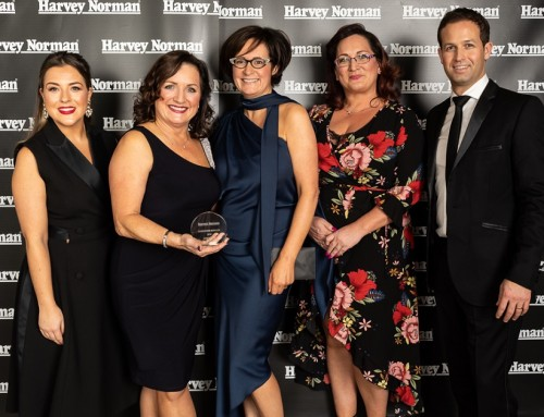 Abbeylands Furniture Ltd wins Harvey Norman, Homeware Supplier of the Year award, two years in a row