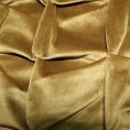 Scatter Box - Origami Antique Gold Cushion Pattern 45cm