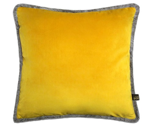 Scatter Box - Milana Yellow Charcoal Cushion 45cm