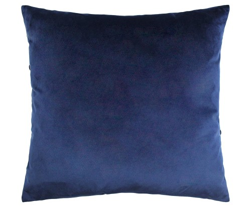 Scatter Box - Halo Navy Cushion Reverse 45cm
