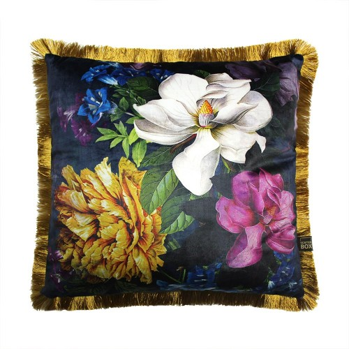 Scatter Box - Magnolia Navy Cushion 45cm