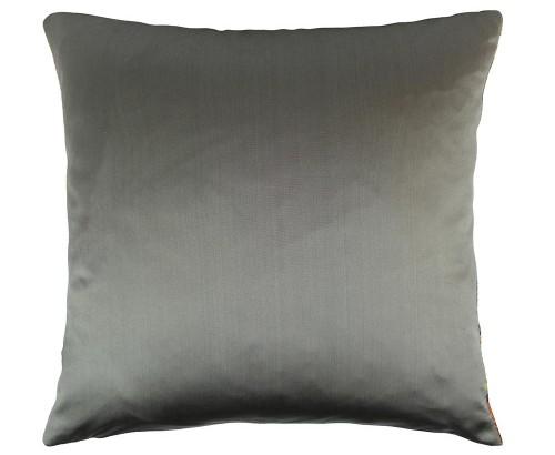 Scatter Box - Adriana Grey Cushion reverse 43cm