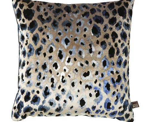Scatter Box Designer Home Furnishings from Ireland - Nirvana Blue Cushion - 43x43cm