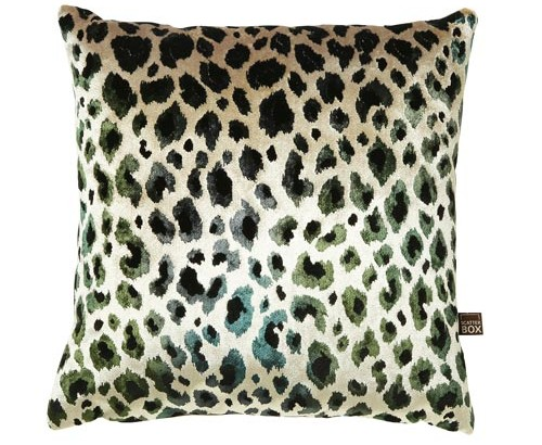 Scatter Box - Designer Home Furnishings from Ireland - Nirvana Green 43x43cm