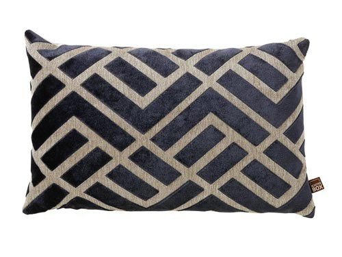 Scatter Box - Senna Navy Cushion - 35x50cm - Home Furnishings Ireland