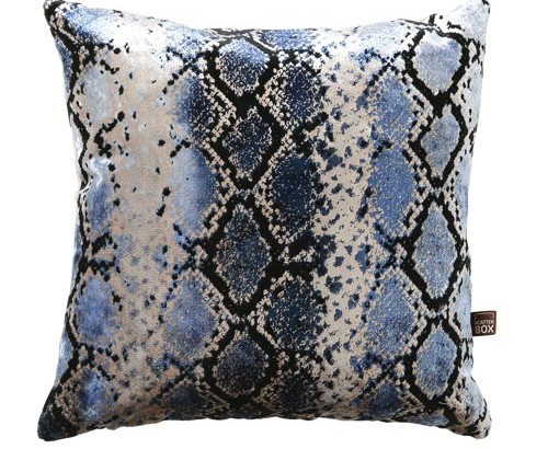 Scatter Box Viper Blue Cushion