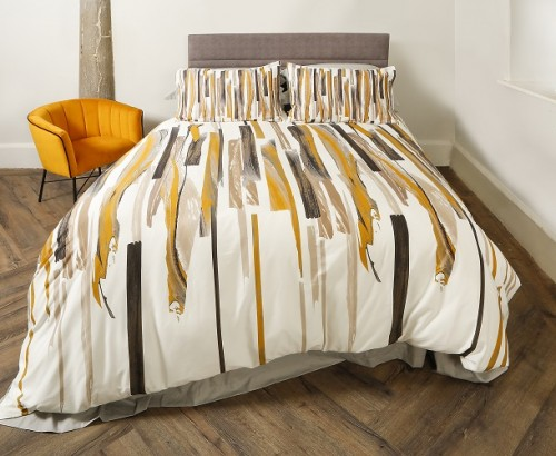 Brushstrokes duvet set