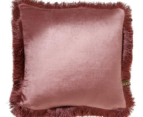 Scatter Box - Designer home Furnishings From Ireland - Lexi Cushion -43cm Antique Rose