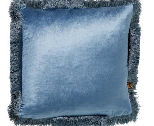Scatter Box - Designer home Furnishings From Ireland - Lexi Cushion -43cm Mid Blue