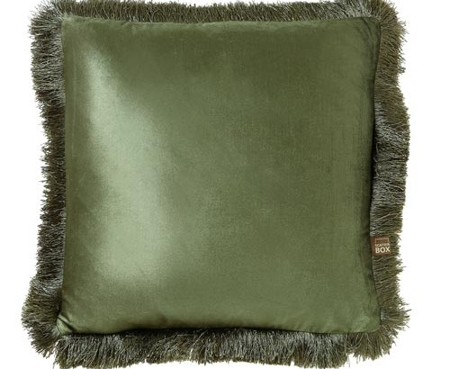 Scatter Box - Designer home Furnishings From Ireland - Lexi Cushion -43cm Sage