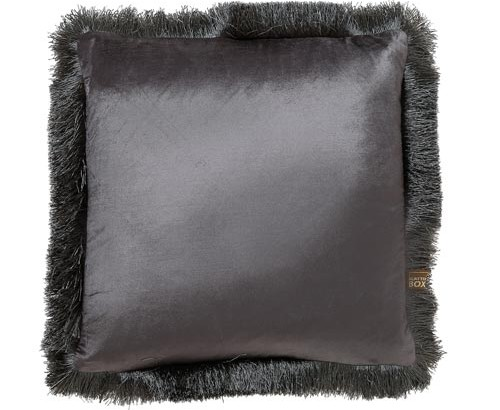 Scatter Box - Designer home Furnishings From Ireland - Lexi Cushion -43cm Grey