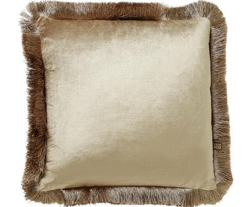 Scatter Box - Designer home Furnishings From Ireland - Lexi Cushion -43cm Champagne