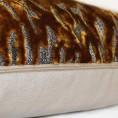 Scatter Box - Tigris Antique Gold Cushion Zip 43cm