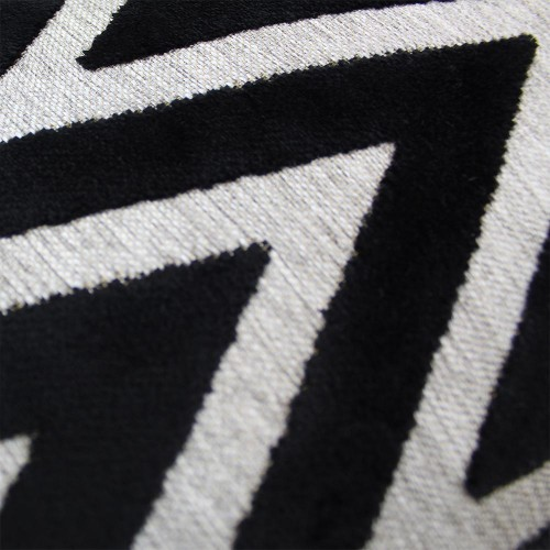 Scatter Box - Bowie Black Cushion Pattern 43cm