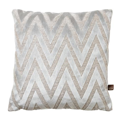 Scatter Box Bowie silver cushion
