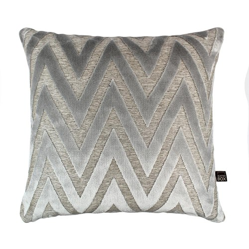 Scatter Box - Bowie Silver Cushion 43cm
