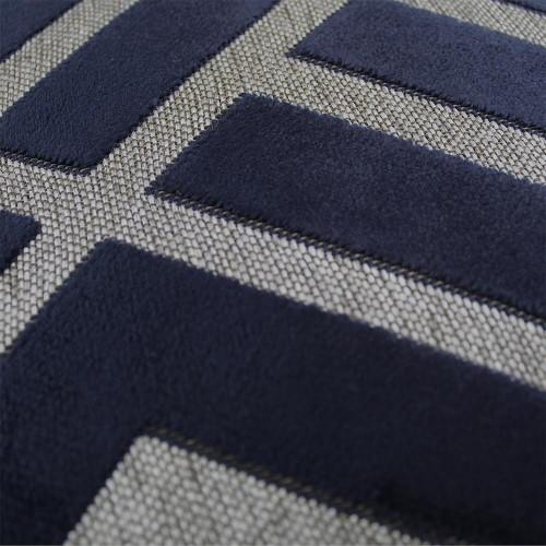 Scatter Box - Senna Navy Cushion Pattern 43cm
