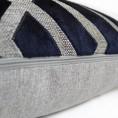 Scatter Box - Senna Navy Cushion Zip 43cm