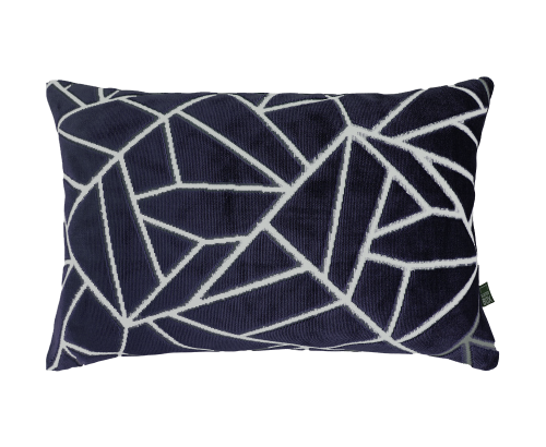 Scatter Box - Veda Navy Cushion 35x50cm