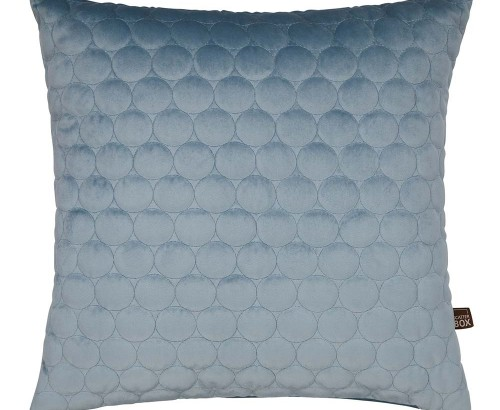 Halo cloud blue cushion