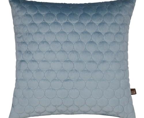 Halo cloud blue cushion
