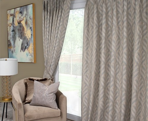 Sika natural curtains
