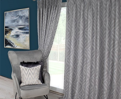 Sika grey curtains