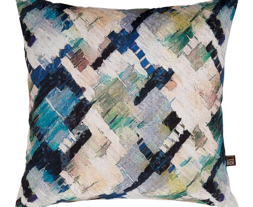 Axel blue cushion