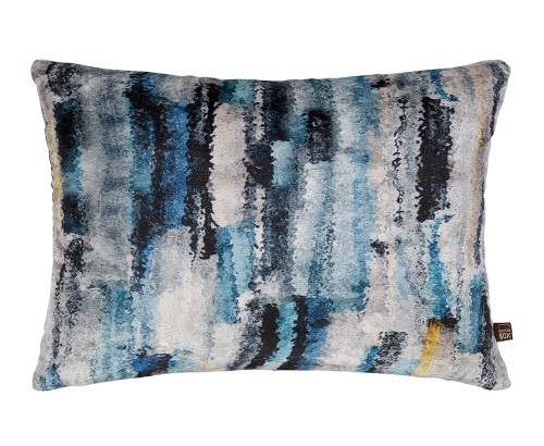 Elysia blue cushion