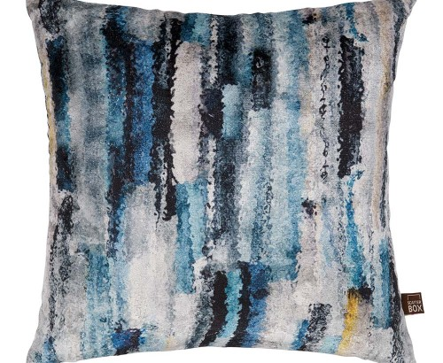 Elysia blue cushion