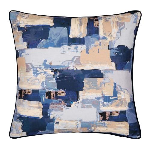 Knox blue cushion