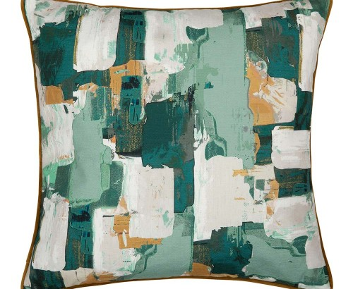 Knox green cushion