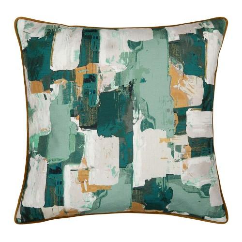 Knox green cushion