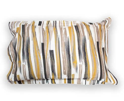 Brushstrokes Oxford pillowcase