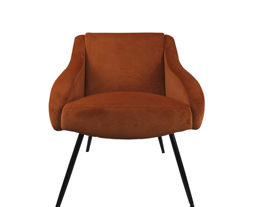 Scatter Box Mika Chair, Harvest Pumpkin