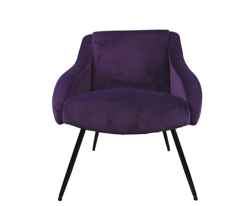 Scatter Box Mika Chair, Plum